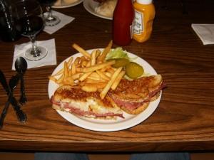 Conrads Restaurant Reuben Sandwich
