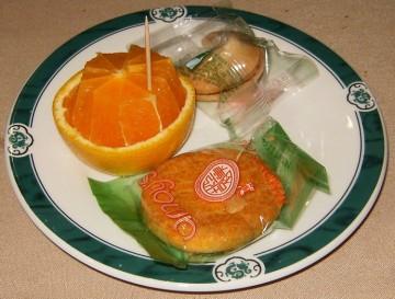 Eagle Rock Green Dragon Cookies and Orange