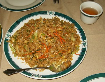 Eagle Rock Green Dragon Vegetable Fried Rice